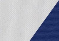 Silver/Marine Blue